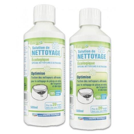 Lot 2 Solutions liquides pour nettoyeurs ultrasons