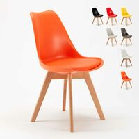 Lot 20 Chaises Avec Design Scandinave TULIP NORDICA Pour Bar Et Restaurants