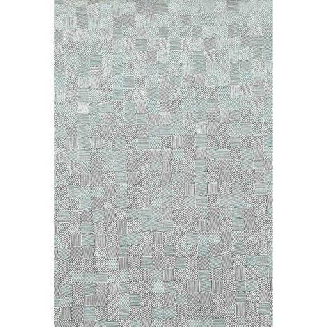 Lot 2x Adhésif décoratif pour meuble vintage Glitter - 200 x 45 cm - Gris - Gris