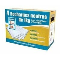 Lot 4 recharges 3 neutre+1 gratuit