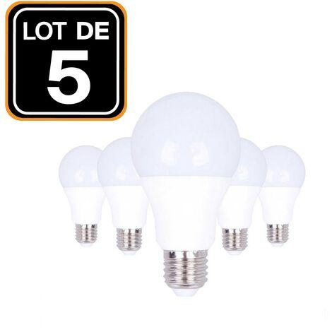 """main image of """"Lot 5 Ampoules LED E27 20W 4500K Blanc Neutre Haute Luminosité - Blanc Neutre 4500K"""""""