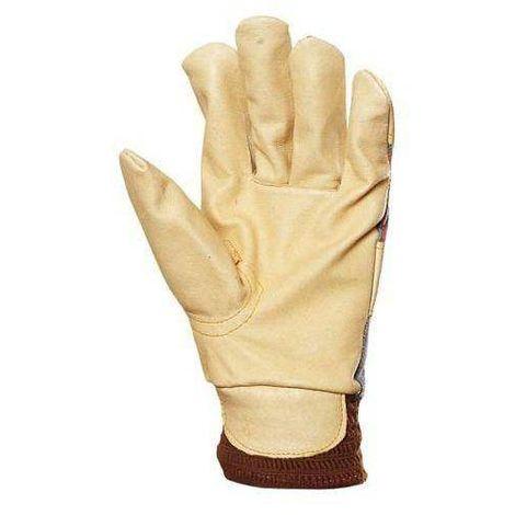 Lot 60 paires gants docker fleur porc, molletonné, poignet élastique 300 - T. Unique - Coverguard