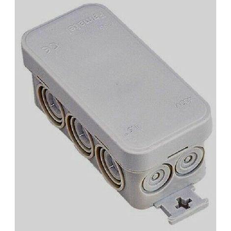 Boite de dérivation étanche 3 entrées avec connecteurs électrique