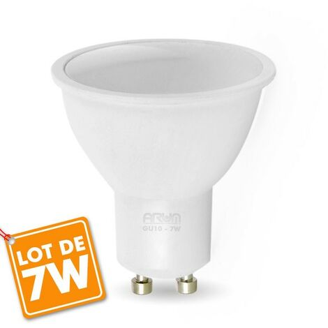 Lot d'Ampoules LED GU10 7W eq. 60W
