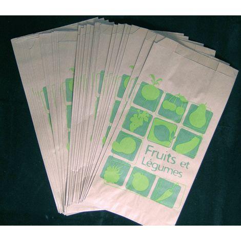 Lot de 1 000 sacs papier Kraft