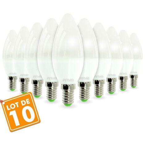 Lot de 10 ampoules E14 5.5W eq 40W