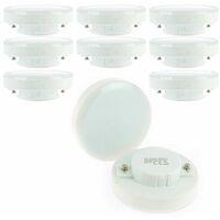 Lot de 10 Ampoules GX53 7W eq 50W