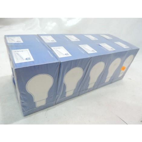 Lot de 10 ampoules incandescentes 100W culot B22 tension 24V claires (CLAUDE) SYLVANIA 100WB2224V-LOTX10