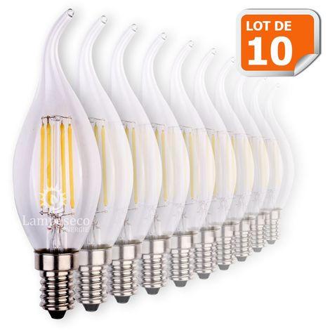 Led Vent Lot À 4 Wattéquivalent WattCulot 10 Ampoules Blanc Filament 42 E14 Coup De Chaud Visser Flamme UMqSzGVp