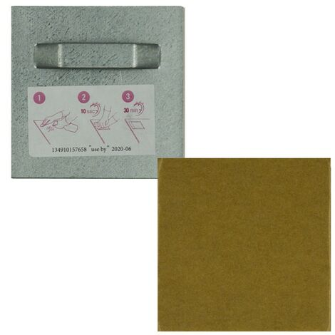 Lot 10 attaches adhesives 70 x 70 mm 3 Kg