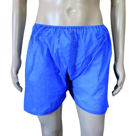 Lot de 10 boxers pour homme en non tissé spunlace jetables - Vivezen