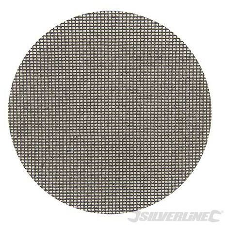 Lot de 10 disques abrasifs treillis auto-agrippants 225 mm, Grain 80