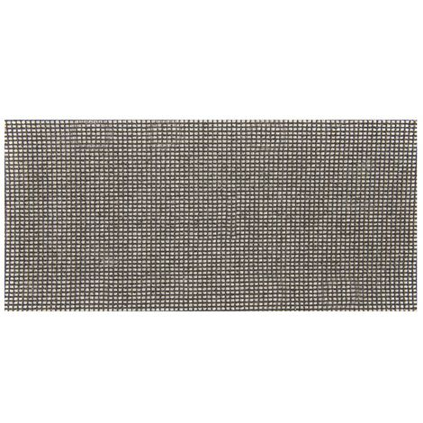 Silverline 525553 Lot de 10 Feuilles abrasives treillis 93 x 230 mm grain 120