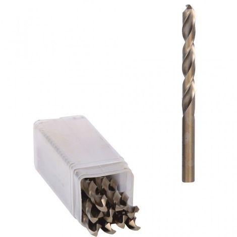 de 10 mm pack Ruko 202057E Foret h/élico/ïdal courtes DIN 1897 type-N HSS Co 5 rectifi/ée autocentrado 5,7