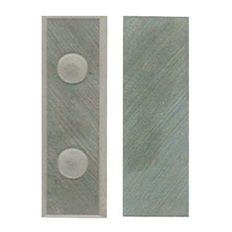 Lot de 10 plaquettes réversibles HM 30x10x1,5 mm pour bois - 800.301.01 - Leman - -