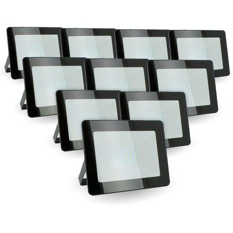 Lot de 10 projecteurs 30W IP65 extérieur