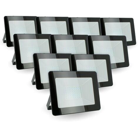 """main image of """"Lot de 10 projecteurs LED 30W IP65 extérieur"""""""