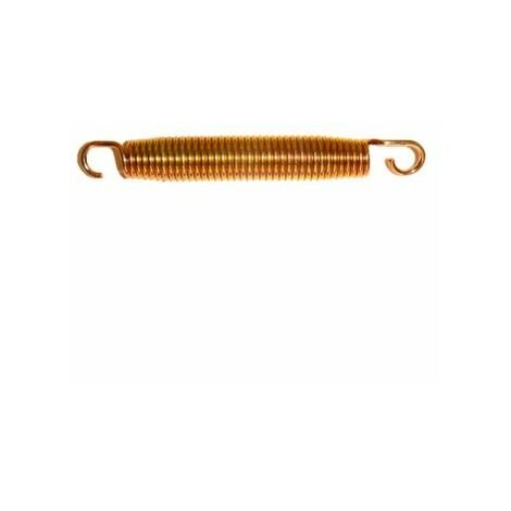 Lot de 10 ressorts Gold 175mm pour trampoline de jardin - Or