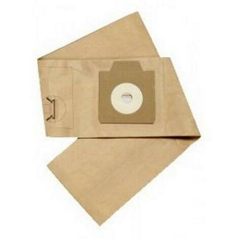 Lot de 10 sacs papier (1407015040) Aspirateur 158205 NILFISK