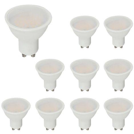 Lot De 10 Spots LED GU10 Pro 5 W Samsung Chip Vt-205