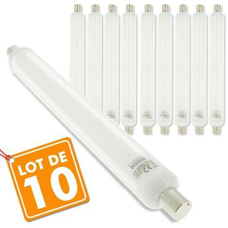 Lot de 10 TUBES LINO LED S19 9W Eq 60W