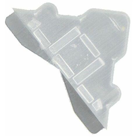 Lot de 100 angles de protection transparents 3 mm pour Dibond, miroir, verre, signalétique