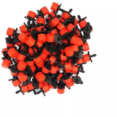 Lot de 100 goutteurs couleur rouge