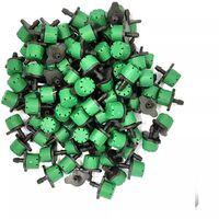 Lot de 100 goutteurs couleur vert