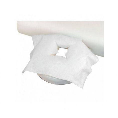 Lot de 100 housses de protège têtière pour table de massage jetables - Forme X - Vivezen