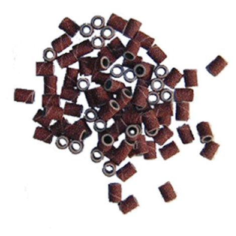 Lot de 100 manchons abrasifs fin pour mini perceuse