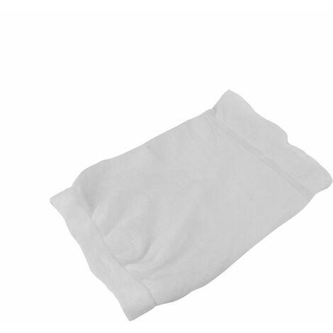 Lot de 12 chaussettes pré-filtres universels jetables pour panier de skimmer de piscine - Blanc - Linxor