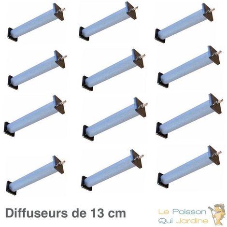 Lot de 12 diffuseurs d'air pour bassin de 13 cm de longueur