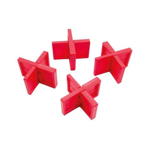 Lot de 12 espaceurs pour lame de terrasse - Ecartement 4,5,6,7 mm - Rinno Plots