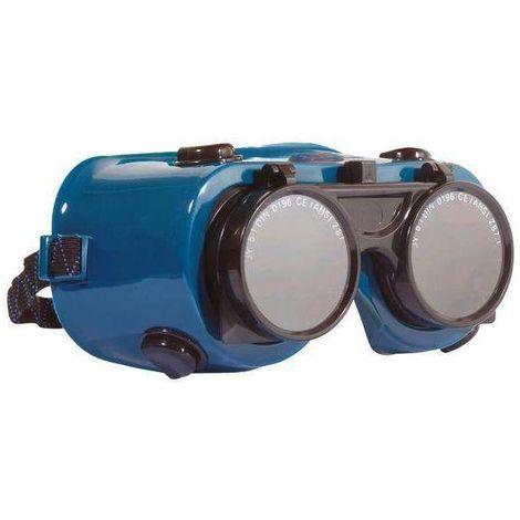 Lot de 12 paires de lunettes soudeur relevables - T. TU - Coverguard