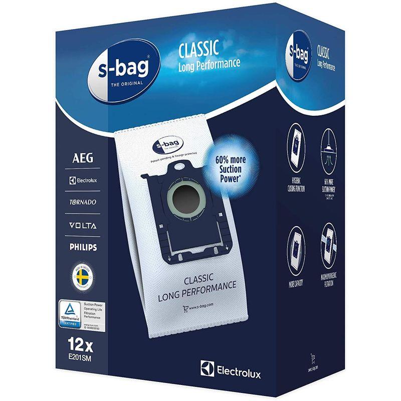 Sac aspirateur AEG S Bag Longue Performance (x 12 SACS