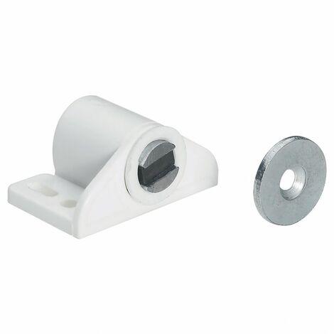 Lot de 2 aimants magnétiques plastique HETTICH, L.27 x l.33 mm