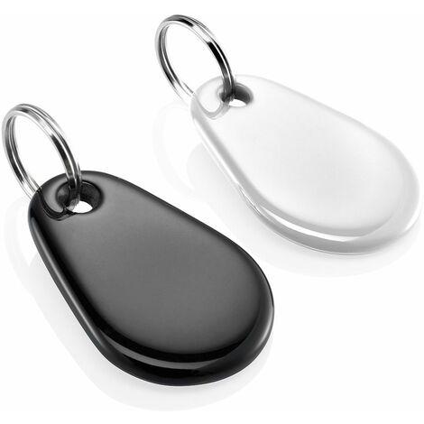 Lot de 2 badges blanc et noir Somfy pour alarme Protexiom - 2400990