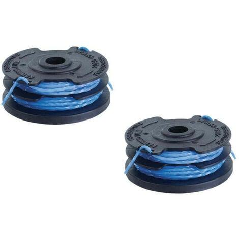 Lot de 2 bobines double fil torsadé RYOBI 1,5mm pour coupe-bordures - RAC110