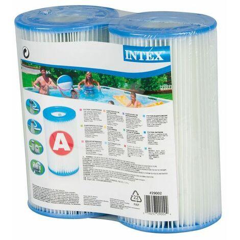 Lot de 2 cartouches de filtration A - INTEX