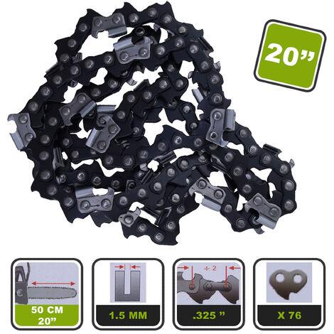 Lot de 2 chaînes Silex® pour tronçonneuse pour guide 20-50