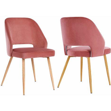 Lot de 2 Chaises de Salle à Manger, Chaise de Loisirs ...