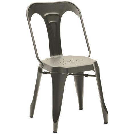 Lot de 2 chaises industrielles