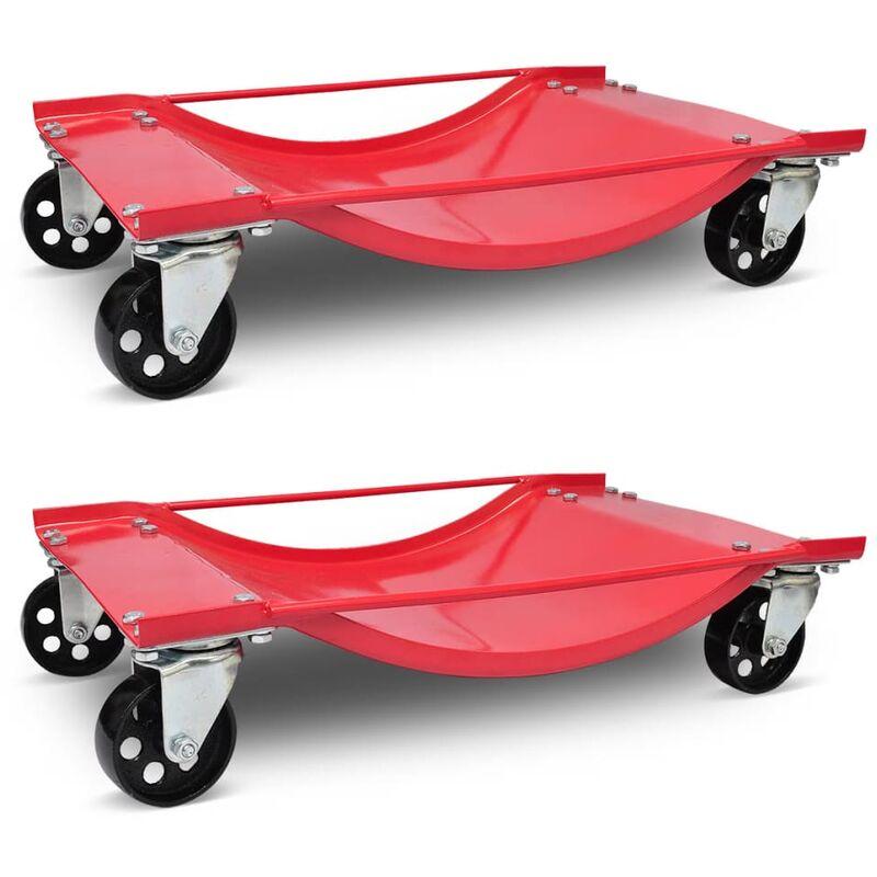 True Deal - Lot de 2 chariot de visite 500kg