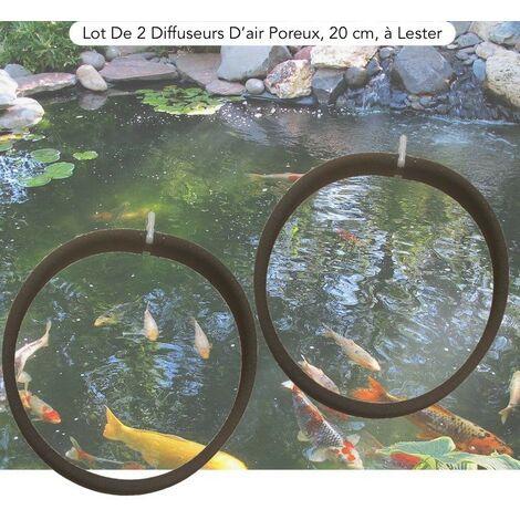 Lot De 2 Diffuseurs D'Air Poreux, PREMIER PRIX, 20 cm. à Lester, Bassins - Noir