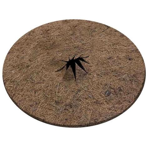 Lot de 2 disques de paillage coco fibres naturelles