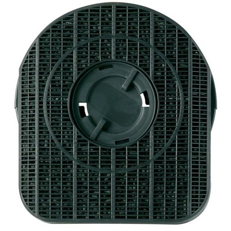 Lot de 2 filtres charbon (21 x 19 x 5,5 cm) pour hotte Rosieres, Fagor, Brandt, Neff, Bauknecht, Electrolux, Whirlpool
