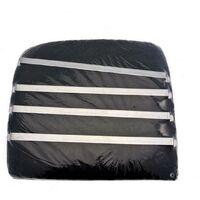 Lot de 2 filtres charbon (23,5x21cm) - Hotte - BRANDT, SAUTER, DE DIETRICH (113656)