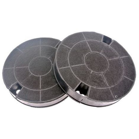 Lot de 2 filtres charbon type 29 CHF029 (481249038013, AMC912) Hotte 91929 WHIRLPOOL, IKEA WHIRLPOOL, BAUKNECHT, ARISTON HOTPOINT, INDESIT, BOSCH, BRANDT, FAGOR, IGNIS, SCHOLTES, SIEMENS, SAUTER, ROSIERES