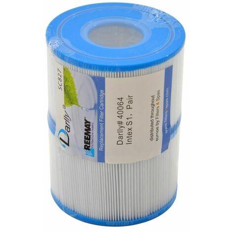 Lot de 2 Filtres Compatibles Spa Intex Pure Spa Intex S1 qualité supérieure