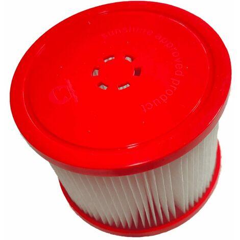 """main image of """"Lot de 2 filtres pour spa gonflable Ospazia - Dimension : 10 x 10 x 8 cm - Couleur : Blanc"""""""